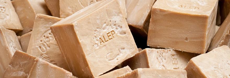Bienfaits du savon d'Alep